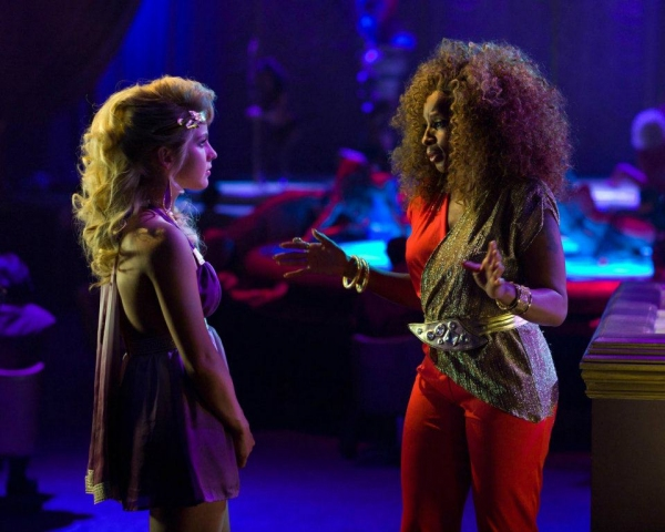 Julianne Hough, Mary J. Blige at New ROCK OF AGES Stills Released!