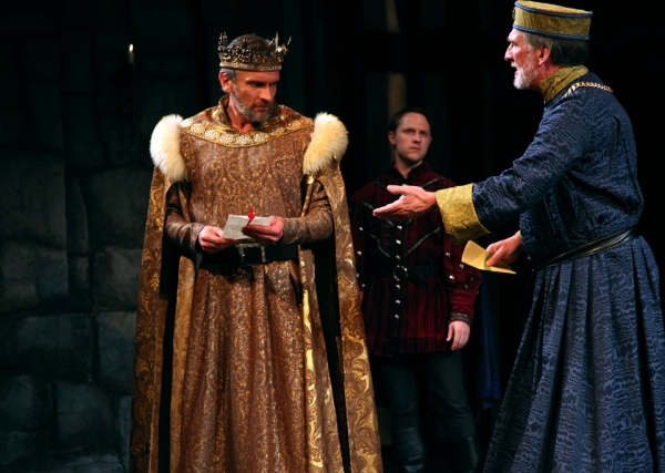 Brent Harris as King Henry the Forth and John Little as Earl of Westmoreland