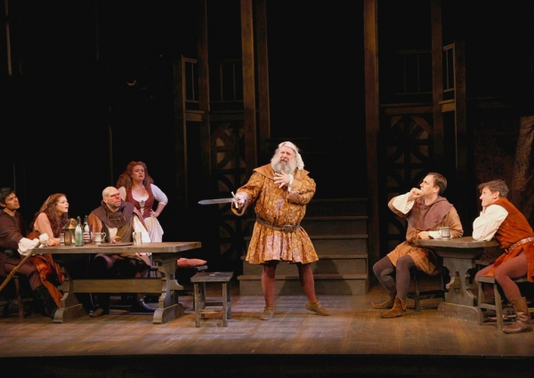 John Ahlin as Sir John Falstaff at Shakespeare Theatre of New Jersey Presents HENRY IV, PART ONE