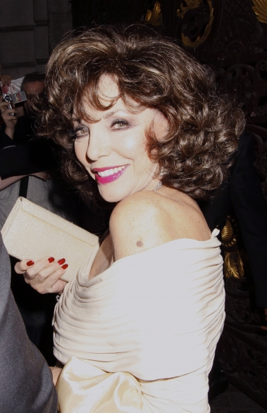 Joan Collins at Michael Crawford & More Attend Queen's Jubilee Arts Party