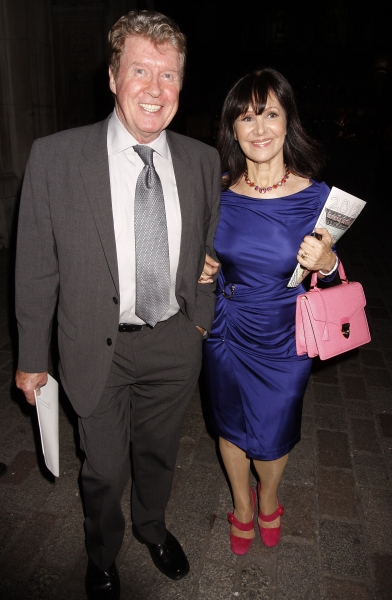 Michael Crawford and Arlene Phillips