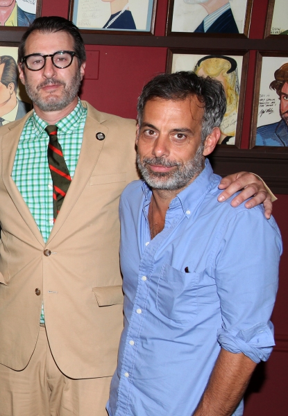 Photo Coverage: OTHER DESERT CITIES' Jon Robin Baitz Joins Sardi's Wall of Fame!
