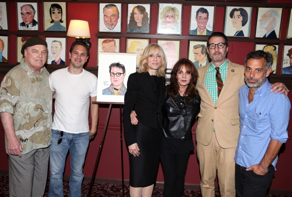 Stacy Keach, Thomas Sadoski, Judith Light, Stockard Channing, Jon Robin Baitz & Joe Mantello at OTHER DESERT CITIES' Jon Robin Baitz Joins Sardi's Wall of Fame!