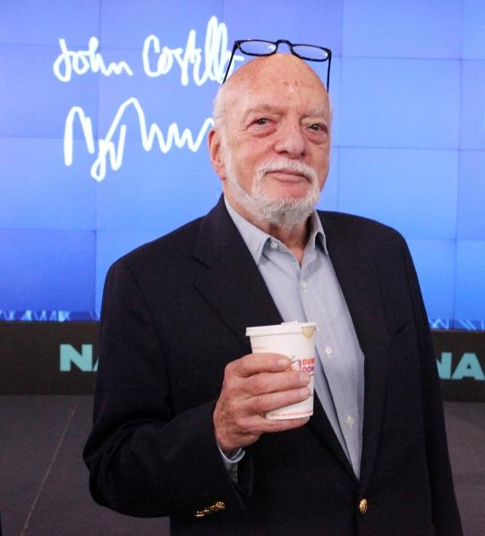 FREEZE FRAME: Harold Prince Celebrates 'National Donut Day' at NASDAQ