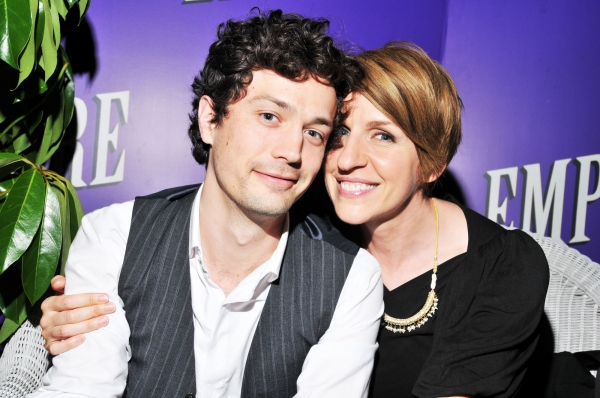 Christian Coulson and Susan Blackwell
