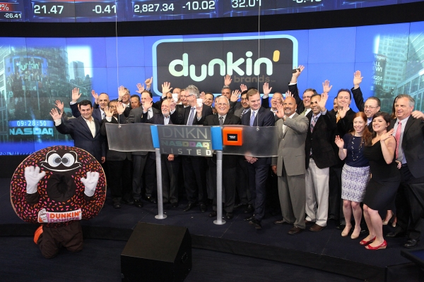 Complete Photo Coverage: Harold Prince Visits NASDAQ on National Donut Day!