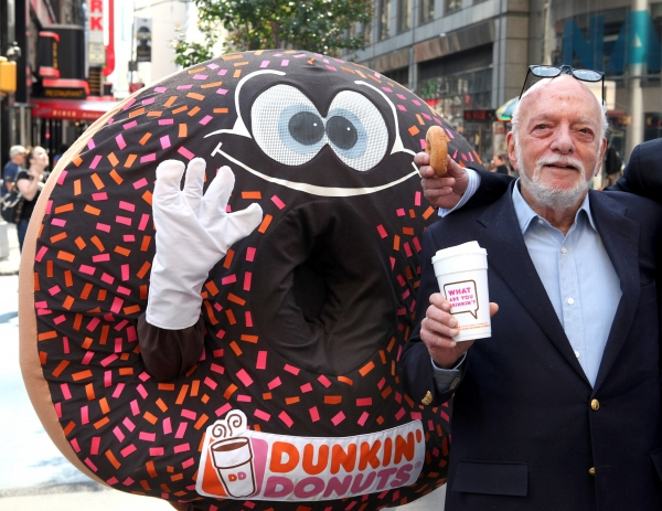 3 at Complete Harold Prince Visits NASDAQ on National Donut Day!