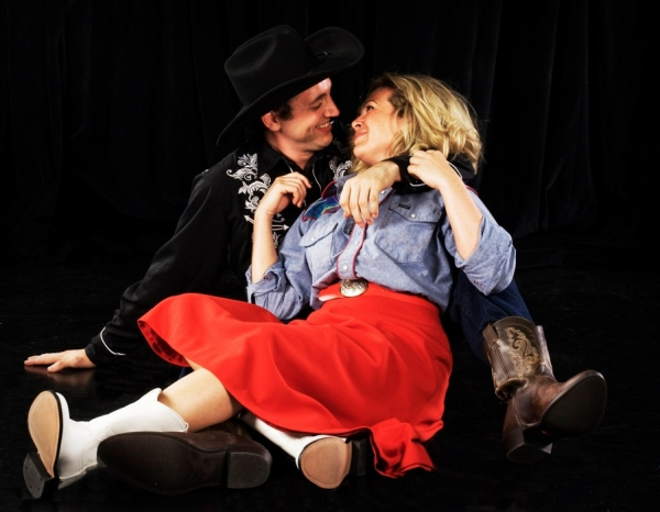Joshua Carter and Billie Wildrick at First Look at Florida Studio Theatre's DAS BARBEC�, Opening 6/13