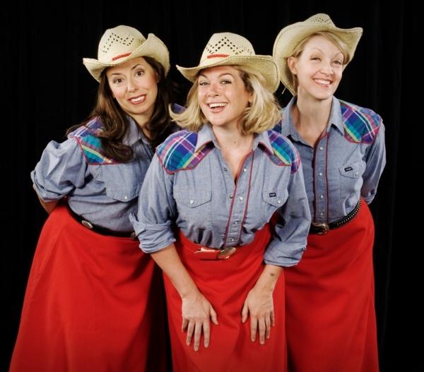 Joanna Parson, Billie Wildrick, and Maria Couch