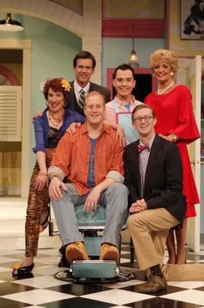 Mary Ann Conk, Joe Ditmyer, Patrick Noonan (center), Michael Kevin Baldwin, Timothy C. Goodwin and Lisa McMillan