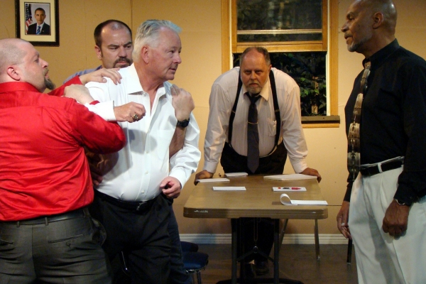 Fighting close Men : Seth Spitzer, Jim Landis, Keith Wright, Michael Greening, Gene Horne