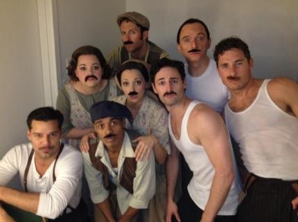 Photo Flash: Saturday Intermission Pics, June 2 - Cast of PRISCILLA, THE BOOK OF MORMON's Josh Gad and More - Updated!