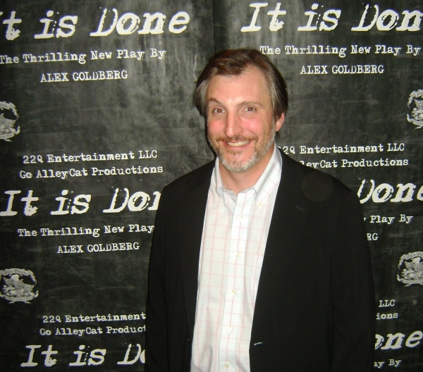 Michael McCartney at Opening Night at GoAlleyCat Productions' IT IS DONE West Coast Premiere