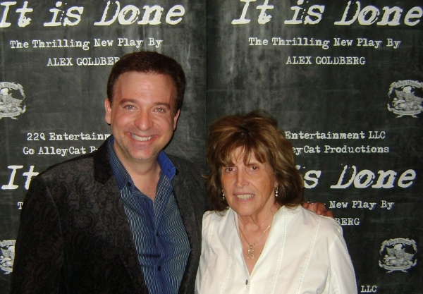 Producer Alan Wager and Sandy Wager