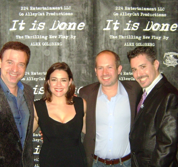 Producers Alan Wager, Cati Aojeda, Alex Goldberg and Robert Levinstein