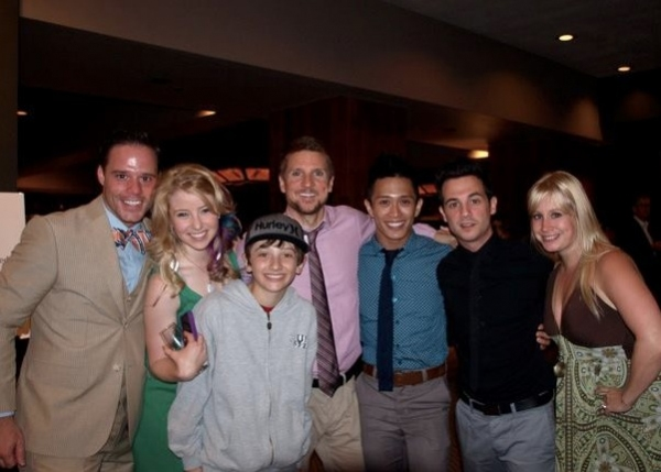 Clark Roberts, Carly Bracco, Cade Cannon Ball, James Leo Ryan, Dane Wagner and Melissa Roberts