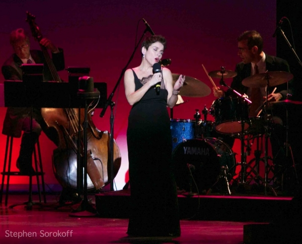 Christine Andreas at Rex Reed, Christine Andreas, Polly Bergen et al. at IT'S MAGIC, Nine Decades of Songs from Warner Bros. at the 92Y