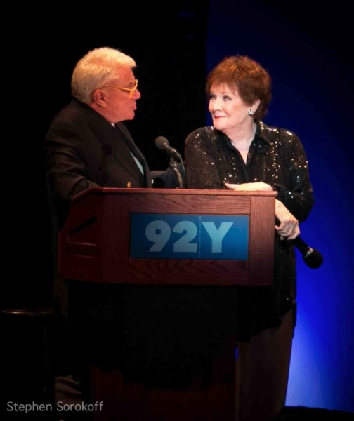 Rex Reed and Polly Bergen at Rex Reed, Christine Andreas, Polly Bergen et al. at IT'S MAGIC, Nine Decades of Songs from Warner Bros. at the 92Y