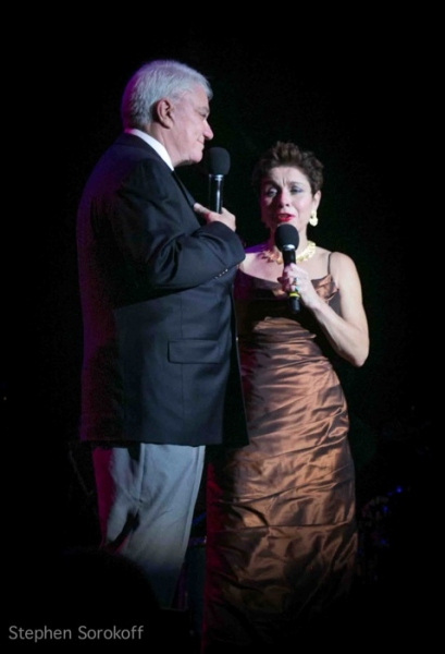 Rex Reed and Christine Andreas at Rex Reed, Christine Andreas, Polly Bergen et al. at IT'S MAGIC, Nine Decades of Songs from Warner Bros. at the 92Y