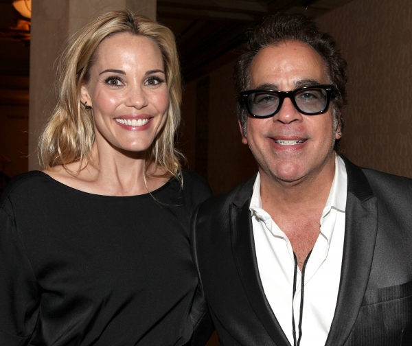 Leslie Bibb & Richard Jay Alexander at Photo Coverage Exclusive: Kristin Chenoweth Hosts Maddie's Corner Fundraising Event - Woof!