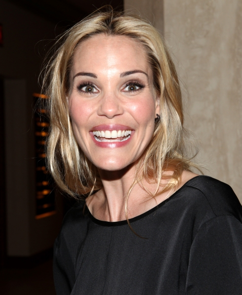 Leslie Bibb at Photo Coverage Exclusive: Kristin Chenoweth Hosts Maddie's Corner Fundraising Event - Woof!