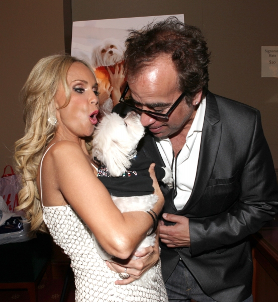 Kristin Chenoweth with her dog Madeline Kahn 'Maddie' Chenoweth & Richard Jay-Alexander
