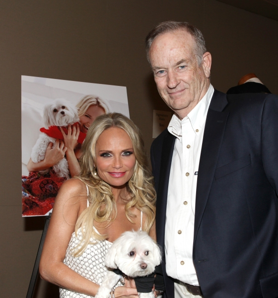 Kristin Chenoweth with her dog Madeline Kahn 'Maddie' Chenoweth & Bill O'Reilly at Photo Coverage Exclusive: Kristin Chenoweth Hosts Maddie's Corner Fundraising Event - Woof!