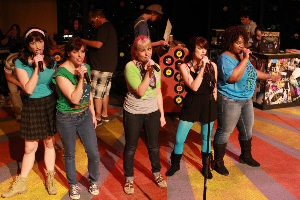 Taylor Pietz, Terrie Carolan, Sarah Porter, Chrissy Young, Talichia Noah
