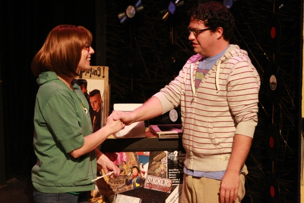 Terrie Carolan as Anna and Mike Dowdy as Dick