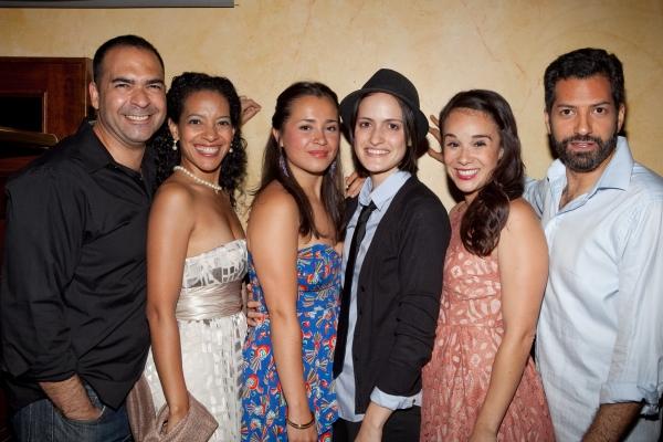 Teddy Canez, Zabryna Guevara, Xochitl Romero, Fernanda Coppel, Carmen Zilles and Alfredo Narciso