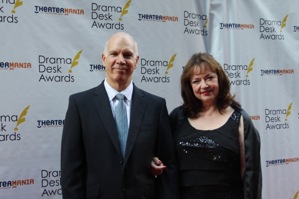 David Zippel and Karyl Lynn Burns Photo