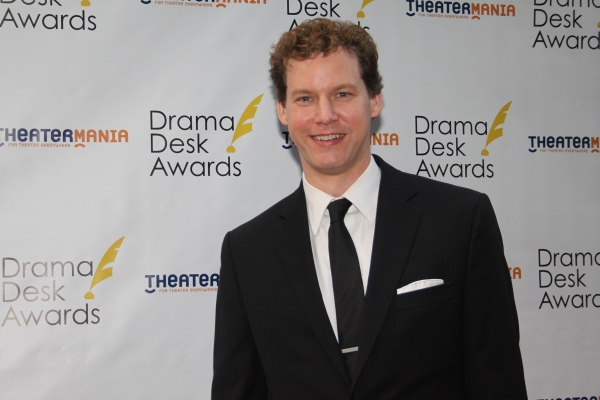 Kevin Earley at The 2012 Drama Desk Starry Arrivals Part 1
