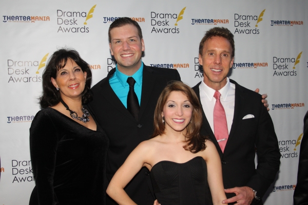 Christine Pedi, Tom D'Angora, Christina Bianco and Michael West  Photo