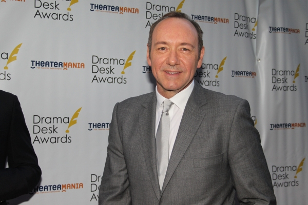 Kevin Spacey at The 2012 Drama Desk Starry Arrivals Part 2