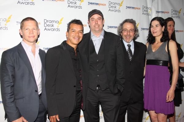 Jack Noseworthy, Sergio Trujillo, Christopher Ashley, Warren Leight and Karen Hauser
