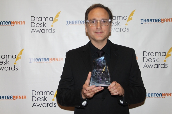 John Gromada at Audra McDonald, Alan Menken & All the Drama Desk Winners!