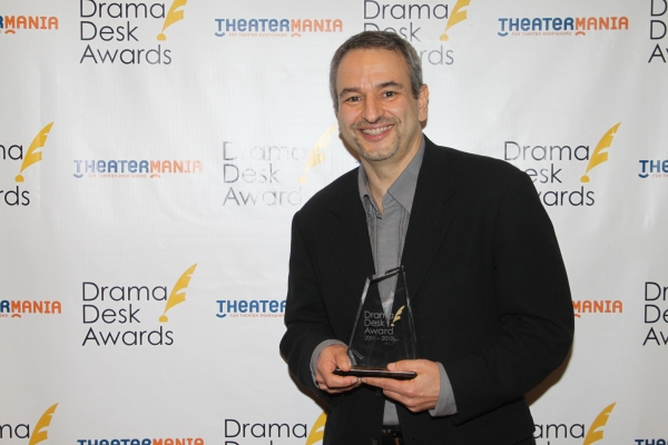 Joe DiPietro at Audra McDonald, Alan Menken & All the Drama Desk Winners!