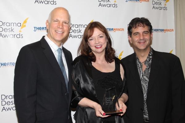 David Zippel, Karyl Lynn Burns and Michael Jackowitz Photo
