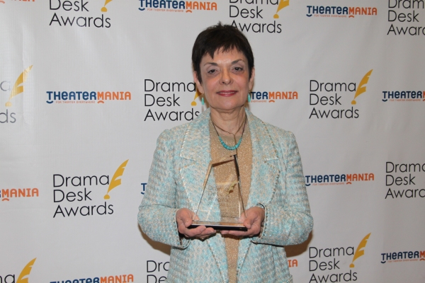 Cora Cahan at Audra McDonald, Alan Menken & All the Drama Desk Winners!