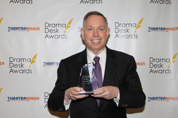 Michael Kaiser at Audra McDonald, Alan Menken & All the Drama Desk Winners!