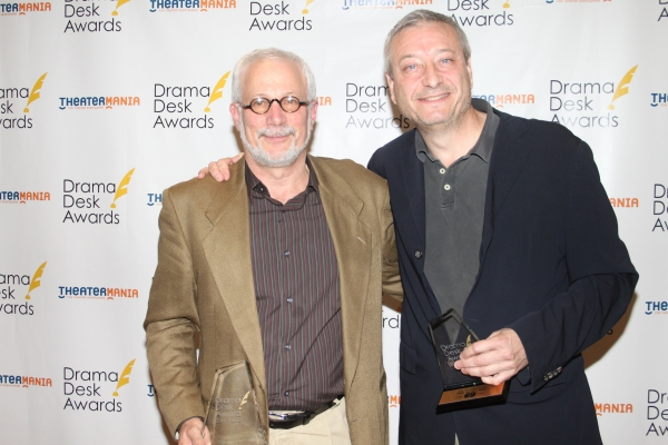 Robert Cole and Fred Zollo at Audra McDonald, Alan Menken & All the Drama Desk Winners!