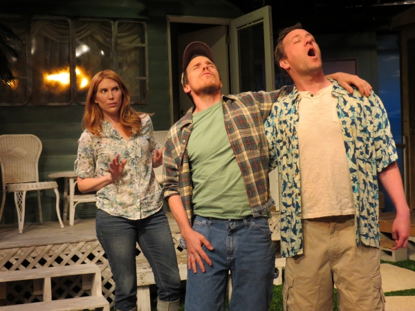 Summer Crockett Moore, Trey Gibbons, Shane Patrick Kearns at Sneak Peek at New Jersey Repertory Company's AMERICAN STARE Starring Summer Crockett Moore and Becca Ballenger