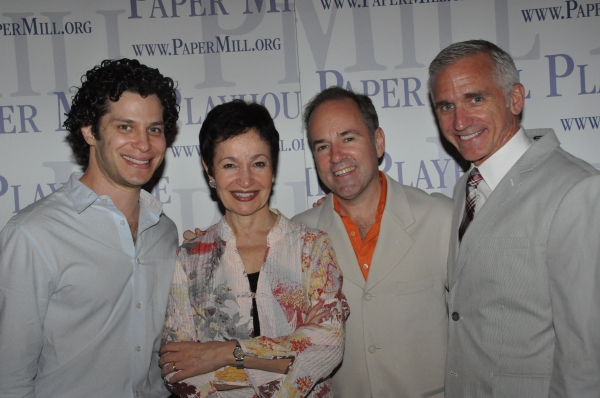 Thomas Kail, Lynn Ahrens, Stephen Flaherty and Mark S. Hoebee at Paper Mill Playhouse's ONCE ON THIS ISLAND Celebrates Opening Night!