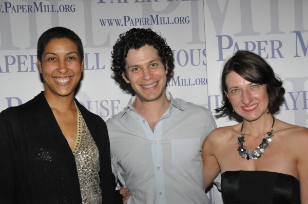 Jessica Jahn, Thomas Kail and Donyale Werle Photo