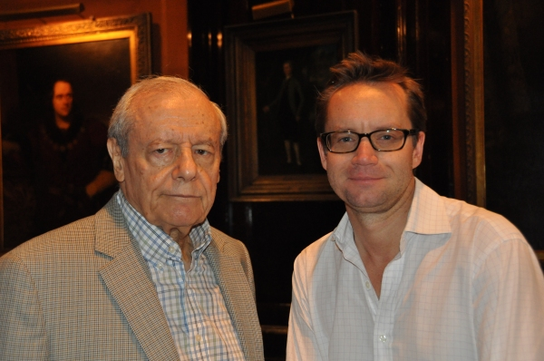 John Simon and Michael Riedel Photo