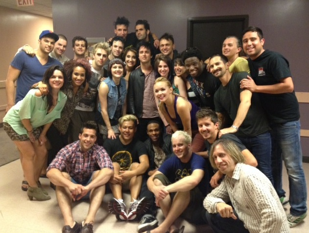 Photo Flash: Billie Joe Armstrong Visits AMERICAN IDIOT's Touring Cast