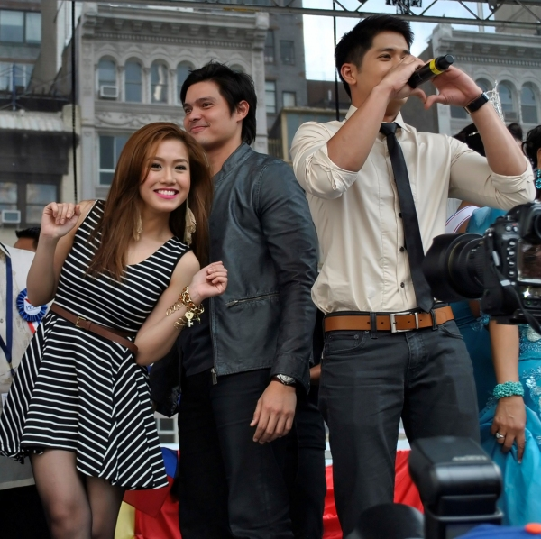 Rachelle Ann Go, Dingdong Dantes, Aljur Abrenica at De Tagle, Go, Broadway Barkada et al. at 114th Philippine Independence Celebration