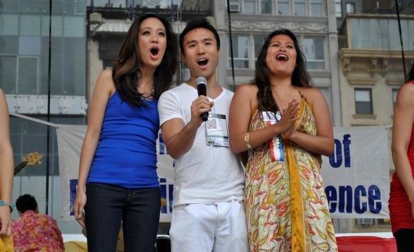 Photo Coverage: De Tagle, Go, Broadway Barkada et al. at 114th Philippine Independence Celebration