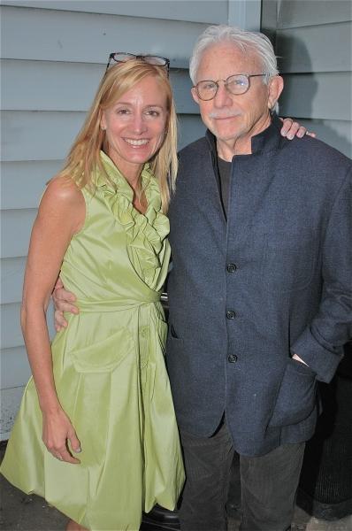 Tracy Mitchell and Joe Pintauro