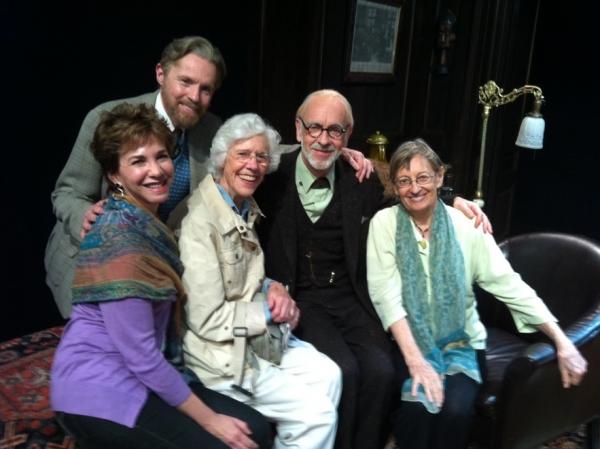 Trauma Therapist Sarilee Kahn, Tuck Milligan, Frances Sternhagen, Martin Rayner, Patr Photo
